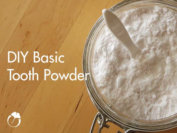 DIY Basic Tooth Powder