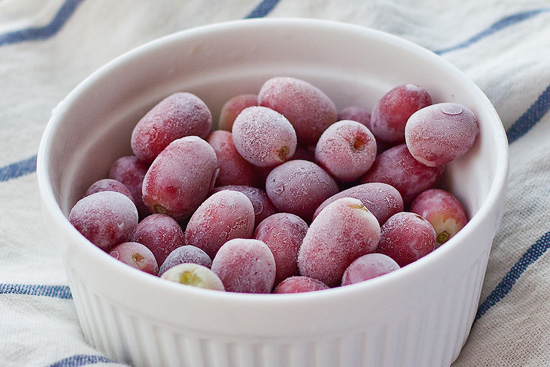 Freeze Those Overripe Grapes Into The Most Yummy Desserts