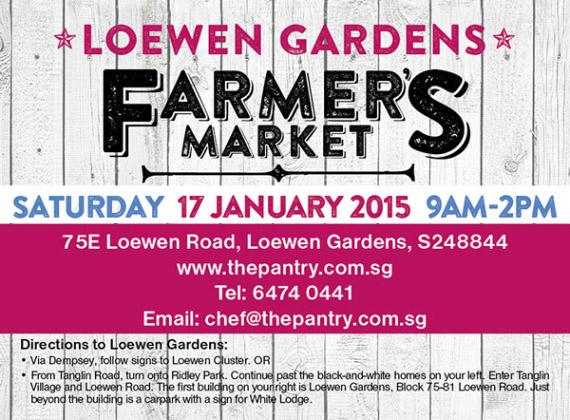 Join Me at Loewen Gardens Farmer's Market