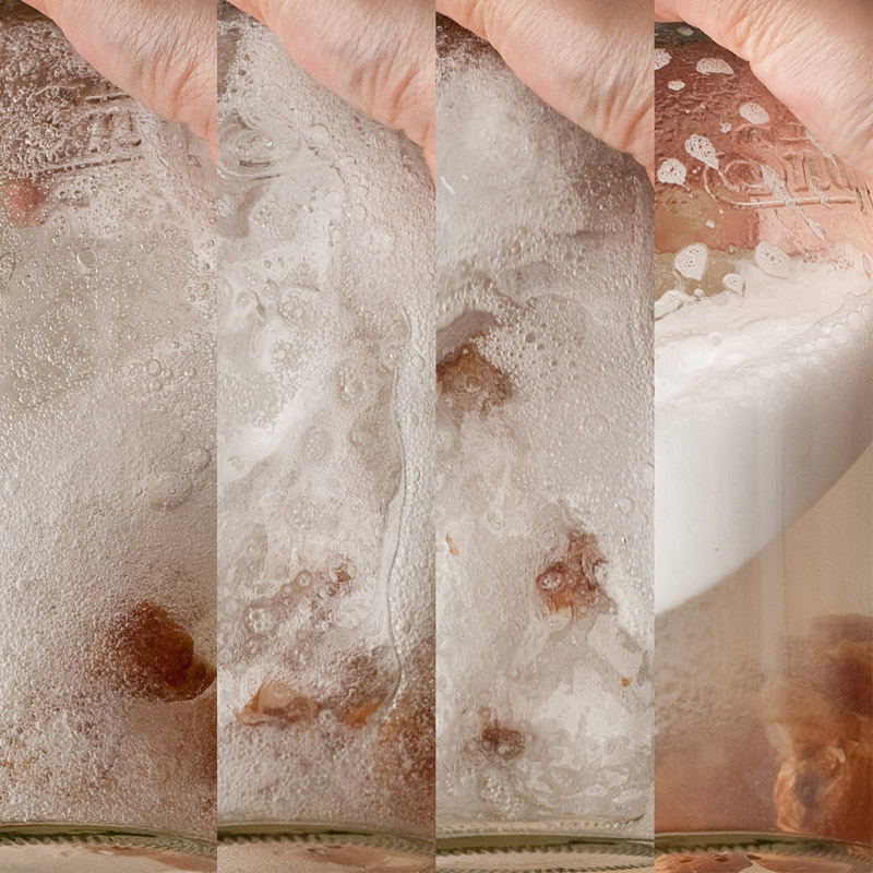 soap nuts in water